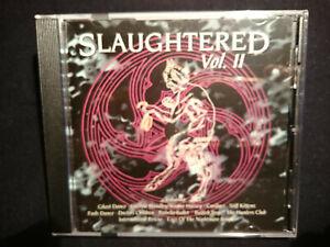 Slaughtered Vol.ii New Ola / Gothic Sampler CD (719)
