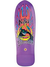 Santa Cruz Purple Candy Metallic Reissue Natas Evil Cat - 31.02 Inch Cruiser Dec
