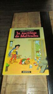Peyo&Johan&Pirlouit-EO,dos rond jaune--Le sortilège de Maltrochu-1970