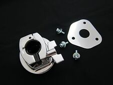 Bass Drum Tom Mount Bracket with Screws and Base Plate for Drum Shell 15~18mm