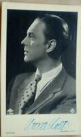 38288 Foto Ross Editore Autografo Ak Film Attore Hans Holl Del 1940