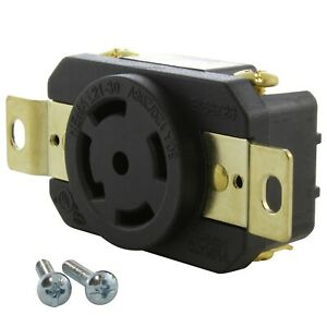 30 Amp 3-Phase 120/208 Volt NEMA L21-30R DIY Replacement Outlet by AC WORKS®