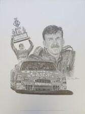 Dale Jarrett Unsigned 1999 Winston Cup Champion 18x24 Litho Robert Stephen Simon