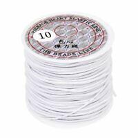 Cinta para cuerda de rollo Cinta elastica 1mm Blanco Longitud 22m X2J3