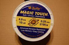 100m Monofile Schnur Sufix Magic Touch Schnur 0,23mm 4,20Kg