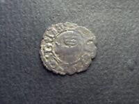 SEIGNEURIE DU BEARN. HENRI D'ALBRET 1516-1555 DENIER DE MORLAAS **RARE VARIETE**