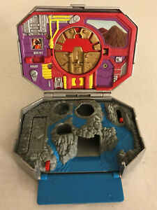 mighty power Red Rangers Micro Morphin Playset INCOMPLETE MMPR