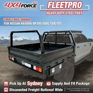 HD Steel Tray 1850x1850x300mm for Nissan Navara NP300 Dual Cab Ute SYD Stock
