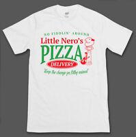 Home Alone Inspired Little Nero's Pizza T-shirt - Retro 90's Christmas Xmas Film