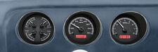Dakota Digital 69 Pontiac GTO Le Mans Analog Gauge Kit Black Red VHX-69P-GTO-K-R