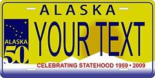 Alaska 2008 License Plates Tag Personalized Auto Car Custom VEHICLE OR MOPED