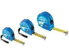 3 Piece Tape Measure Set 3m 5m 8m Metric & Imperial