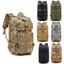 30L Outdoor Military Tactical Rucksacks Hiking Camping Shoulders Backpack New