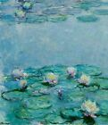 Water Lilies by Claude Monet Impressionism Home Decor Print on Canvas Small 8x10