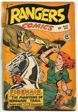 Rangers Comics #46 1948- Firehair- Tigerman- reading copy