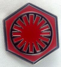 FIRST ORDER  - Star Wars Movie Series Logo - UK Imported Enamel Pin