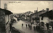 Woinville bei St. Mihiel 1. Weltkrieg War Guerre 1914-18 Dorfpartie Fuhrwerk