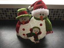 New christmas changing colour snowman