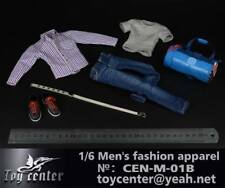 "Toy Center 1:6 scale Men's Fashion Apparel (Set B) CEN-M-01B F 12"" Figure Toys"