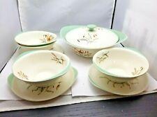 Wedgwood Tiger Lily 4 Small Bowls Dessert, 4 Sauce Etruria Barlaston and 1 Big S