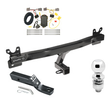 """Trailer Tow Hitch For 08-10 Volvo V70 Wagon Complete Package w/ Wiring & 2"""" Ball"""