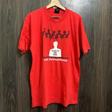 Vintage 90s The Offspring Guilty As Sin T Shirt Punk Rock