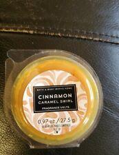 1 Bath & Body Works White Barn Cinnamon Caramel Swirl Wax Melt Melts 0.97 Oz New