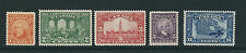 CANADA 1927 60th YEAR of CANADIAN CONFEDERATION (Sc 141-5) mostly MNH