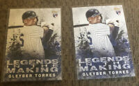 2018 Topps  2 Card Lot Gleyber Torres RC NY Yankees