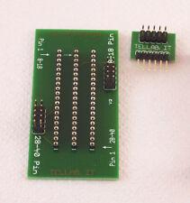 Zoccolo ECO per Programmatori pic ICSP compatibile pickit2 e pickit3 microchip