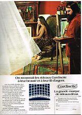 Publicité Advertising 1973 Les Rideaux Gardisette