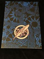 JIMMY PAGE-ROBERT PLANT-1995 TOUR-CONCERT PROGRAM BOOK-LED ZEPPELIN