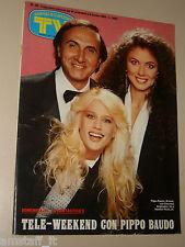 TV SORRISI CANZONI=1984/40=PARISI BRIGLIADORI BAUDO=SERGIO CAPUTO=LEONE FILM=