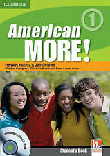 American More! Level 1 Student's Book with CD-ROM,Very Good Condition