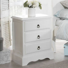 61cm-65cm Height Bedside Tables & Cabinets with 3 Drawers