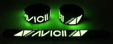 Avicii NEW! Glow in the Dark Rubber Bracelet Wristband Wake Me Up gg232