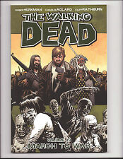 The Walking Dead Vol 19 March To War Softcover Trade 1st Print Skybound Image