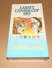 Labatt Canada Cup 1987 vhs video NEW Team Canada vs USSR hockey Wayne Gretzky