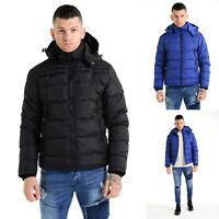 New Mens Eto Casual Bomber Puffer Padded Bubble Designer Jacket Coat Size S-XXL