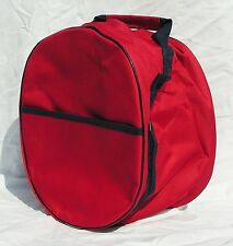 Rhinegold Riding Hat Storage Bag Assorted Colours Stable Tack Room Clean Secure Red