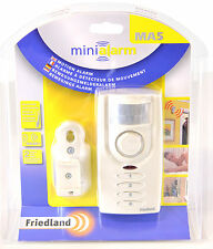 FRIEDLAND MA5 MOTION DETECTION KEYPAD OPERATED INTRUDER BURGLAR ALARM BELL CHIME