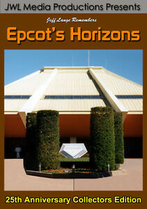 Walt Disney World Epcot Center Horizons DVD - Space, Undersea & Desert Endings