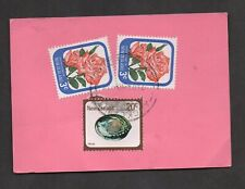 """New Zealand #586 & 674, on Post Office Form """"Mail 79, Auckland CDS"""
