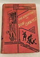 Rare 1889 The Adventures of Tom Sawyer. Mark Twain. Illustrated True Williams
