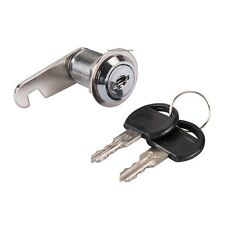 Brand New  Cam Lock Nickel-plated 27 mm with 2 keys