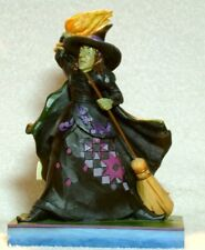 """Jim Shore The Wizard Of Oz Wicked Witch """"Want To Play Ball Scarecrow"""" #4049674"""
