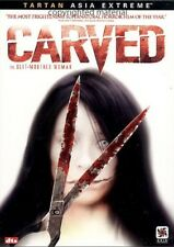Carved (DVD, 2007) Japanese Language with English & Spanish Subtitles