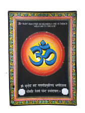 Om Poster Mandala Wall Hanging Indian Meditation Tapestry Hippie Cotton Yoga Mat
