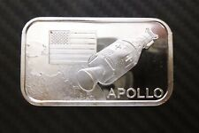 1 Oz .999 Silver APOLLO REACH FOR PEACE 5TH EDITION E.J. ALEO MINT #1341