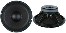 """NEW (2) 12"""" Woofer Speakers.PAIR.8ohm.PA.Subwoofer Replacements.die cast frame"""